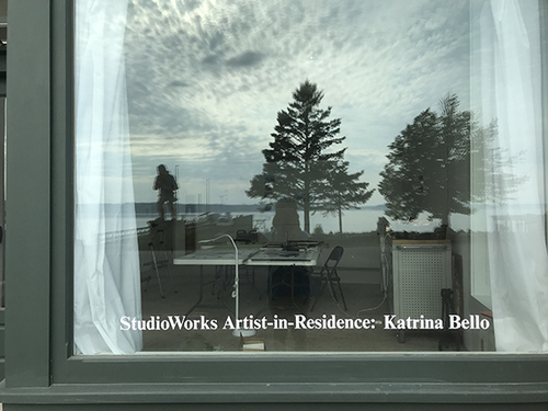 artist-in-residence at Tides Institute & Museum of Art